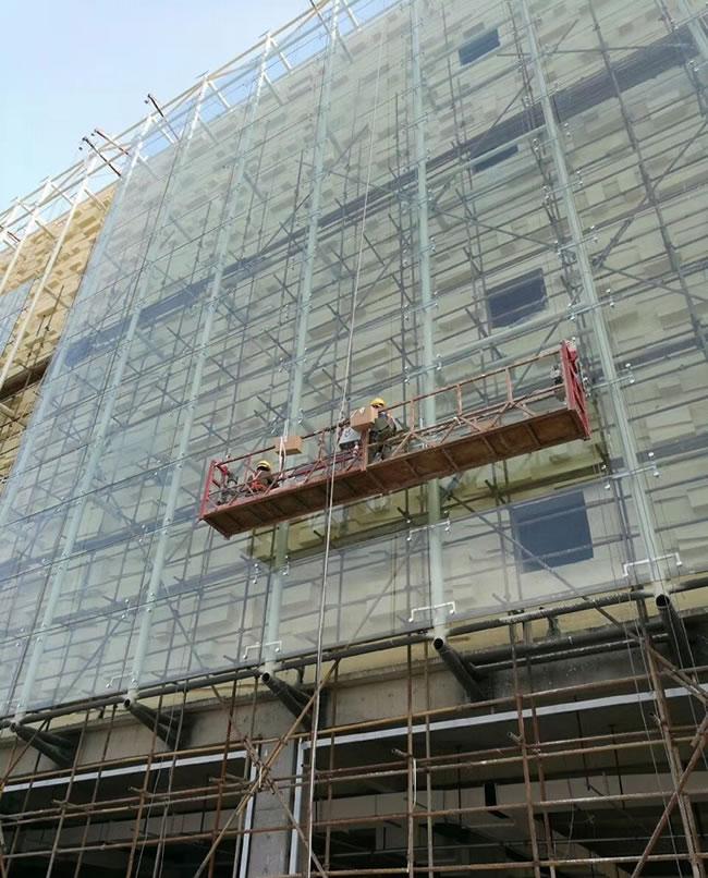 点式玻璃幕墙安装